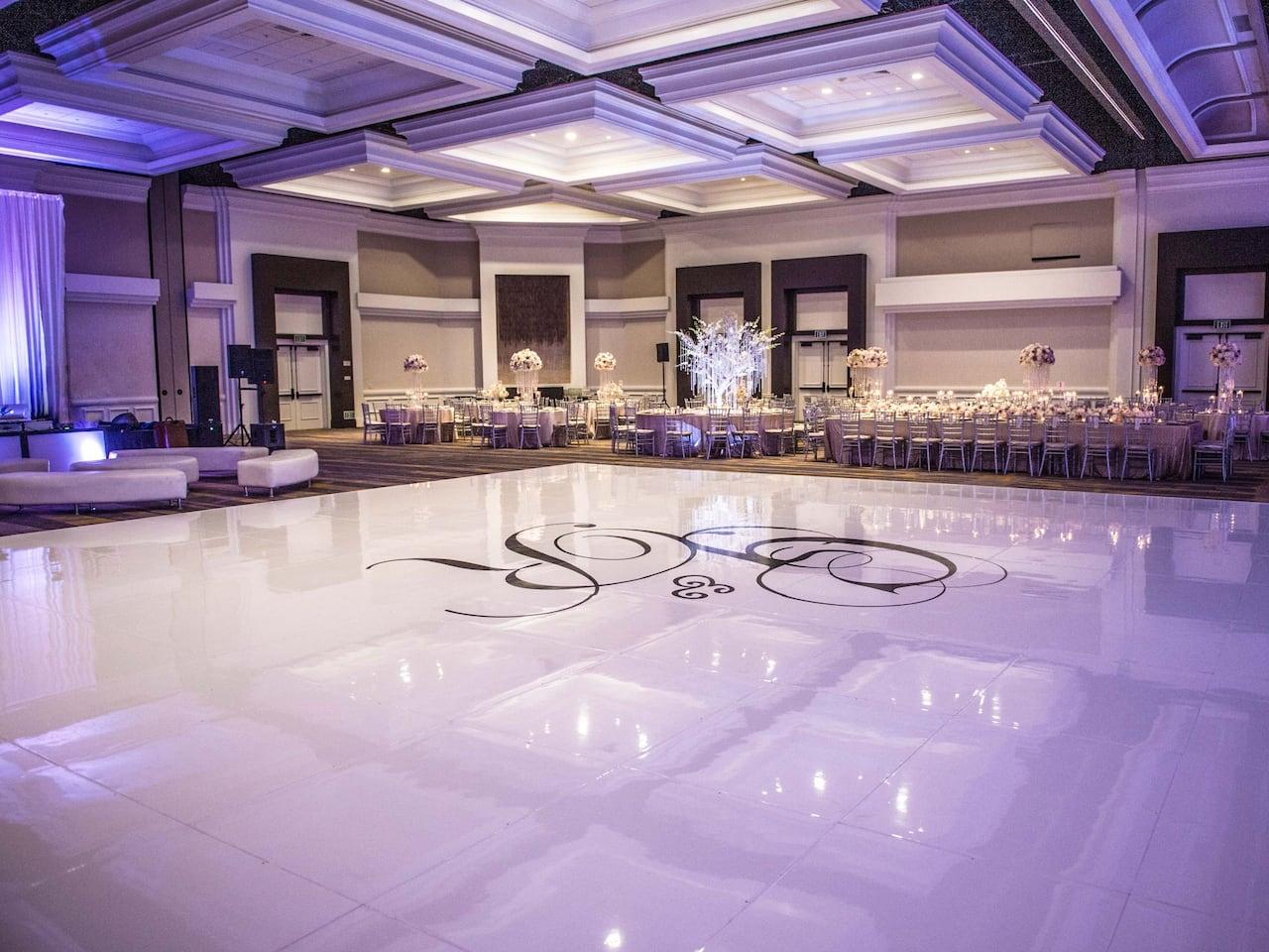 Wedding Reception at Manchester Grand Hyatt San Diego
