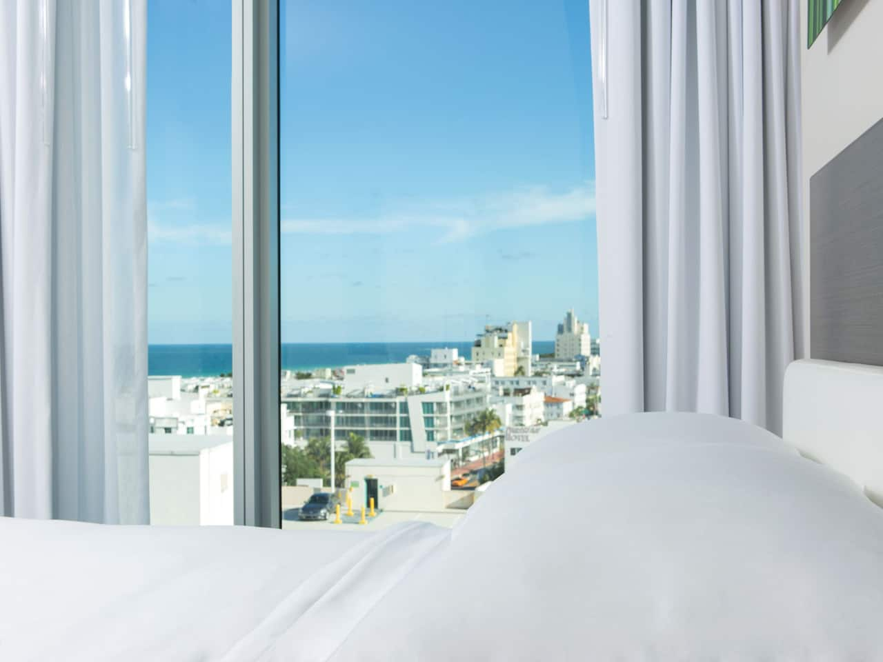 Hyatt Centric South Beach Miami Hotel City View Corner Room Photo
