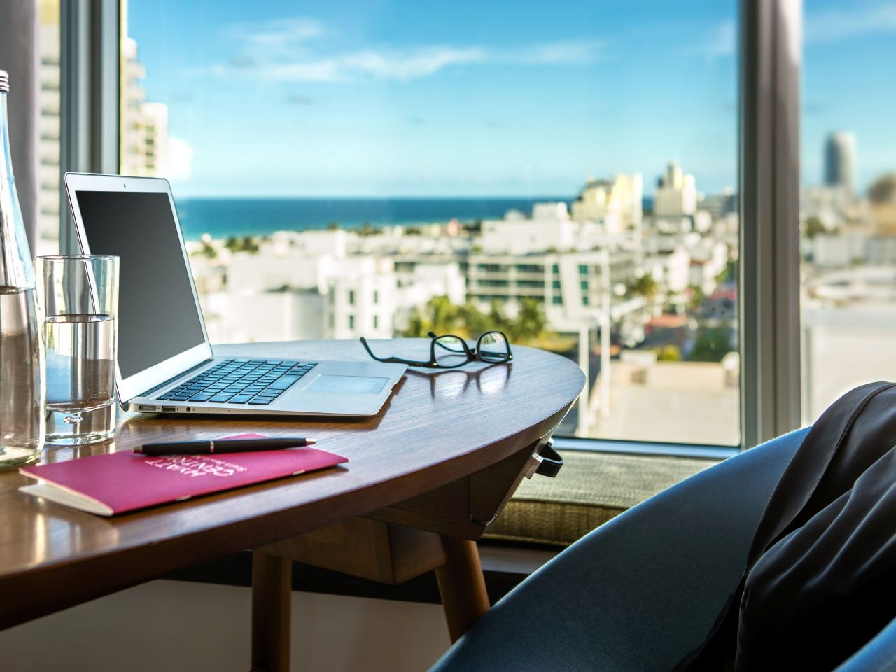 Hyatt Centric South Beach work desk