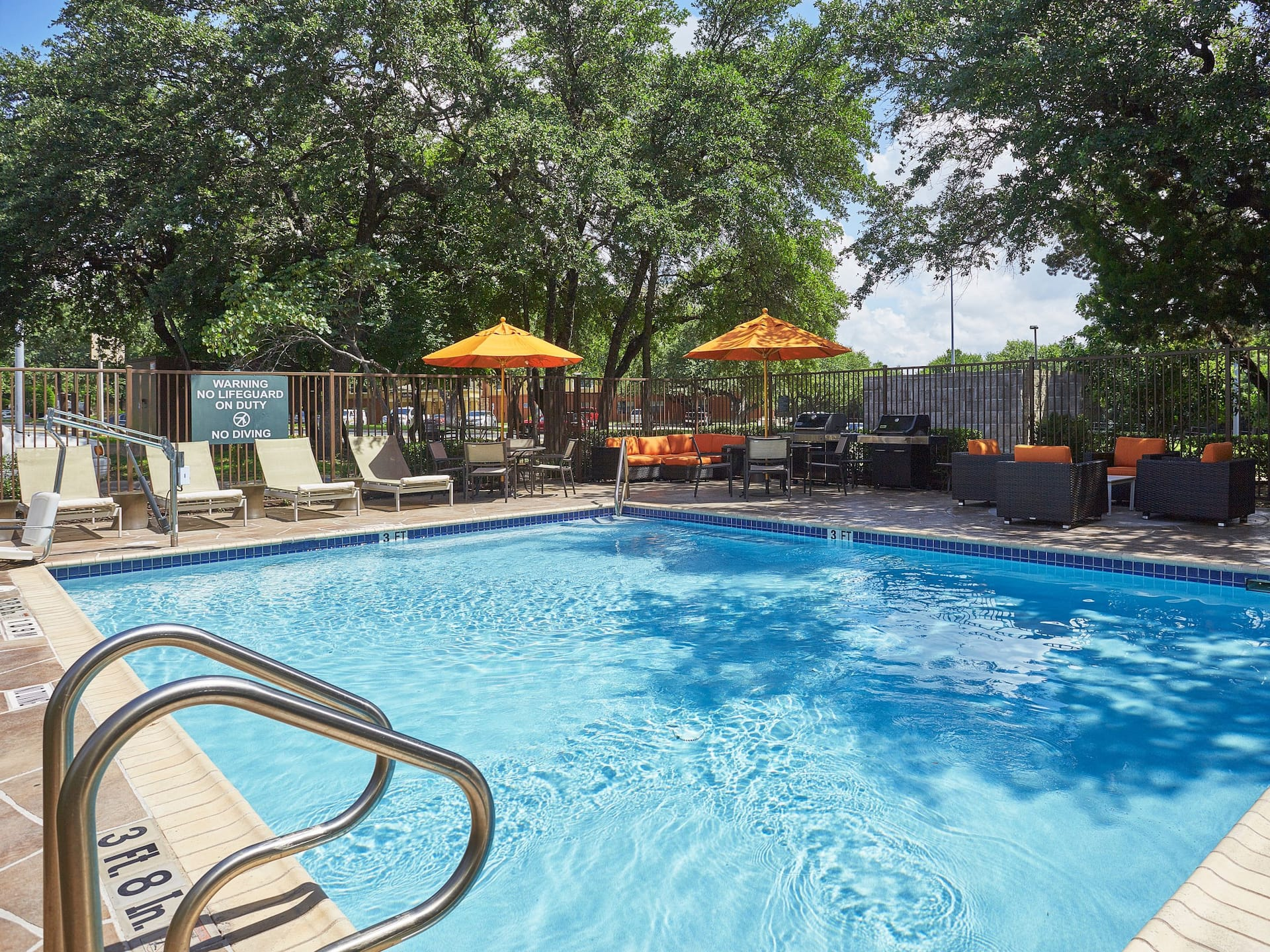 Hyatt House Austin Outdoor Pool