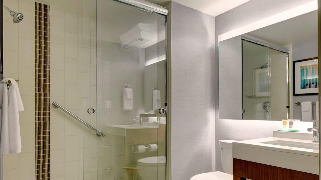 Hyatt Place New York/Yonkers Walk-in Shower