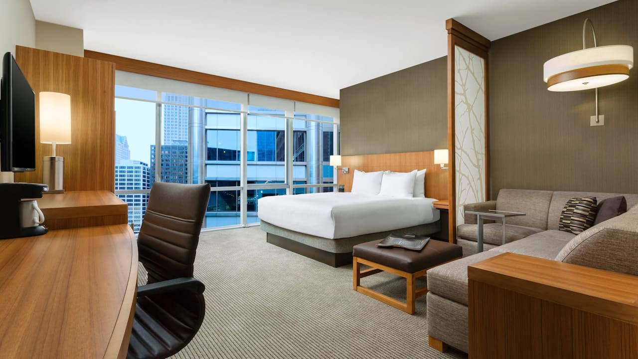 Hyatt Place Downtown Chicago The Loop King Suite