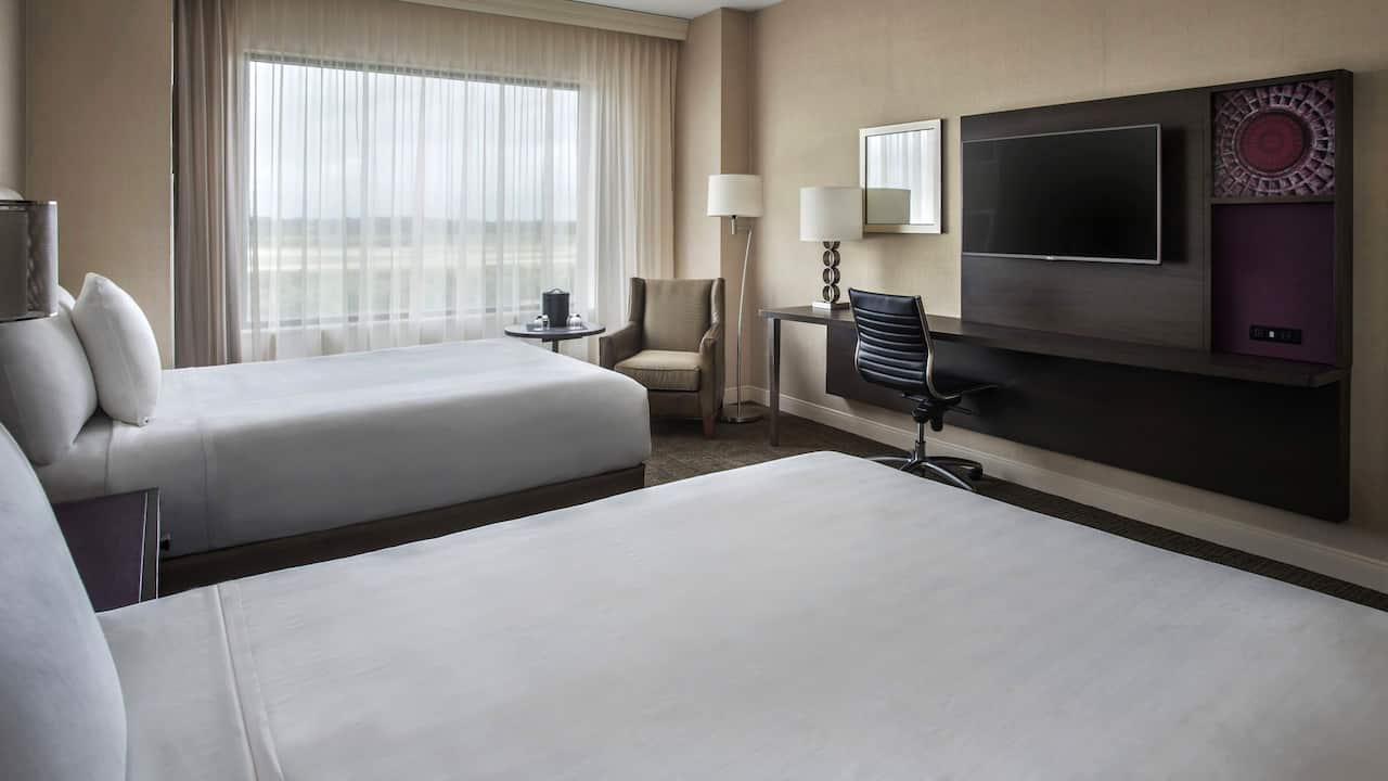 Double room Hyatt Regency Pittsburgh International Airport