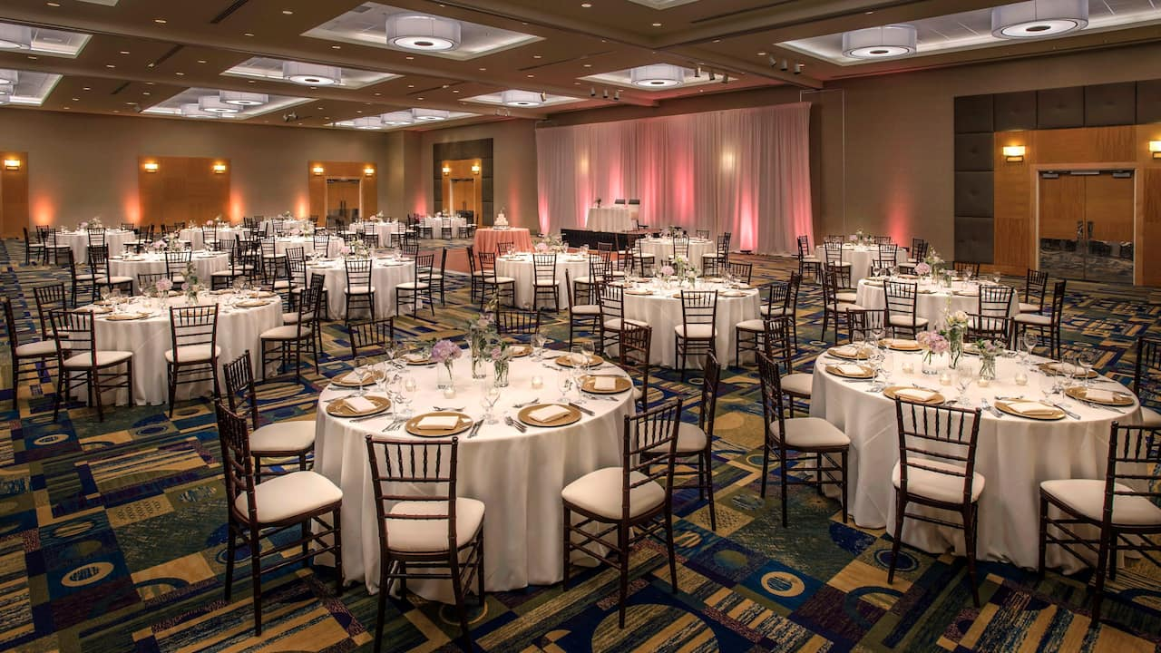 Wedding Reception Hyatt Regency Pittsburgh International Airport