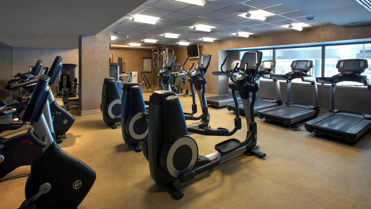 Fitness center Hyatt Regency Pittsburgh International Airport