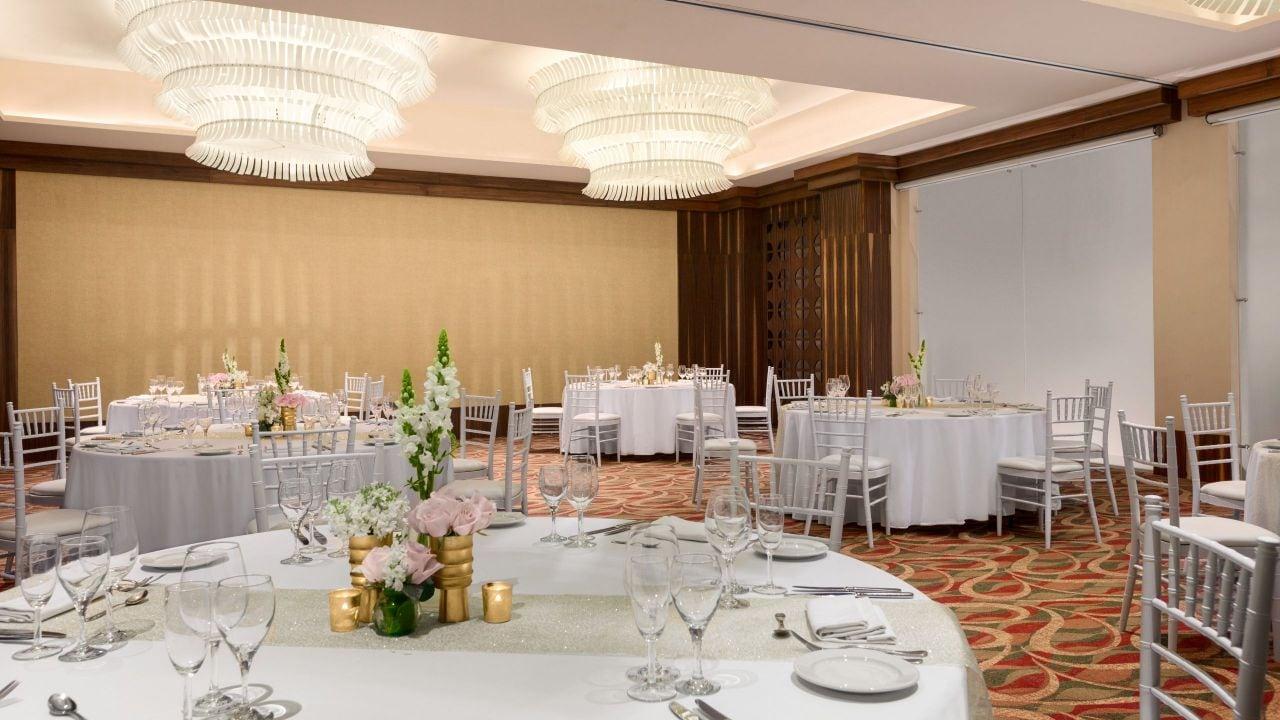 Small Ballroom Wedding Reception
