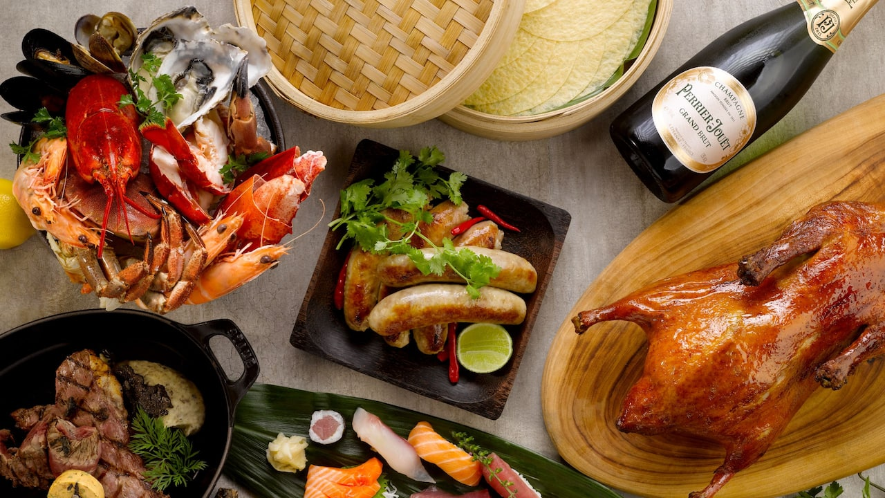 Mezza9's Sunday Brunch Buffet at Grand Hyatt Singapore, 10 Scotts Road, Singapore