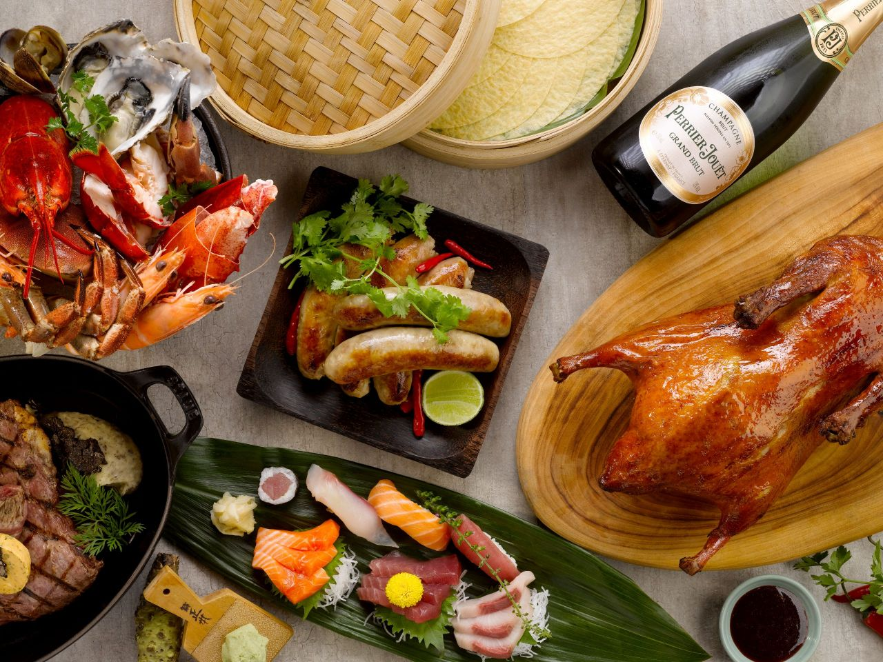 Grand Hyatt Singapore buffet