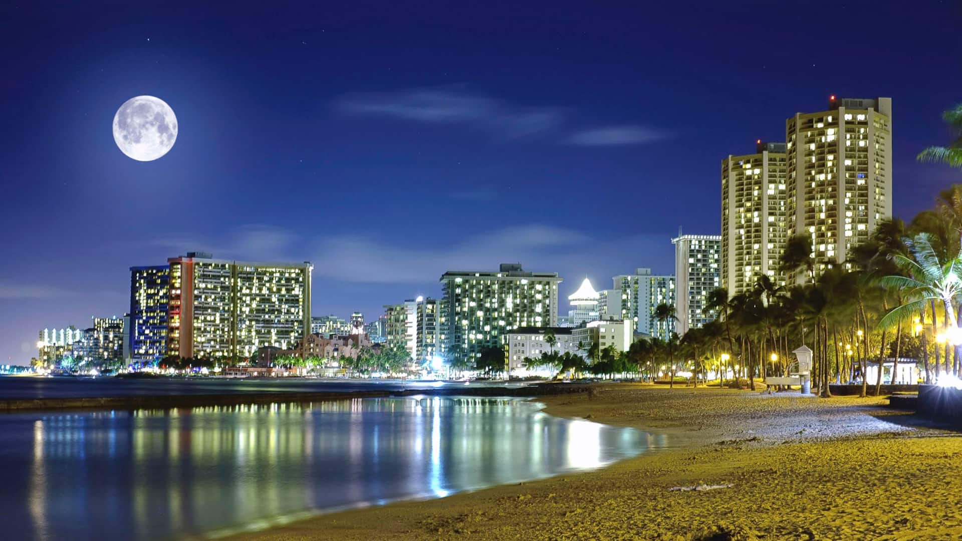Night Waikiki