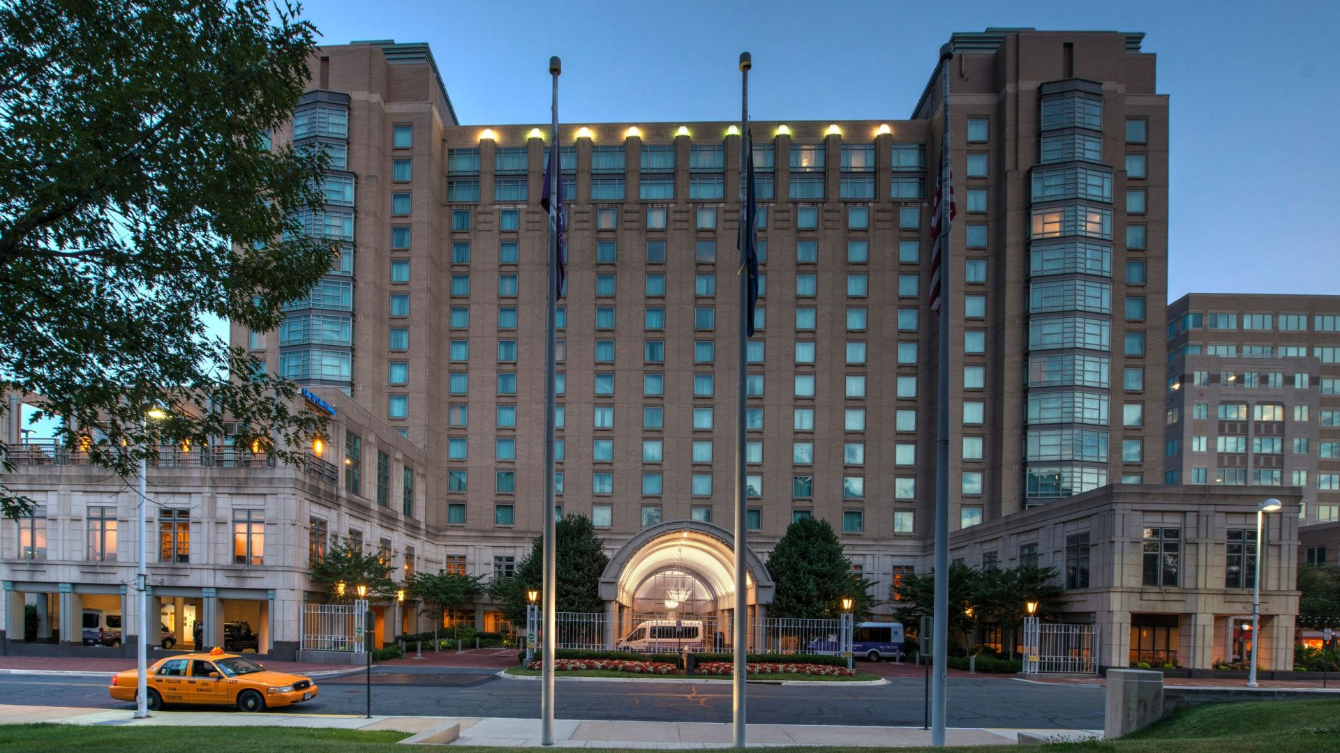 Hotel In Reston Town Center Northern Virginia Hyatt Regency Reston