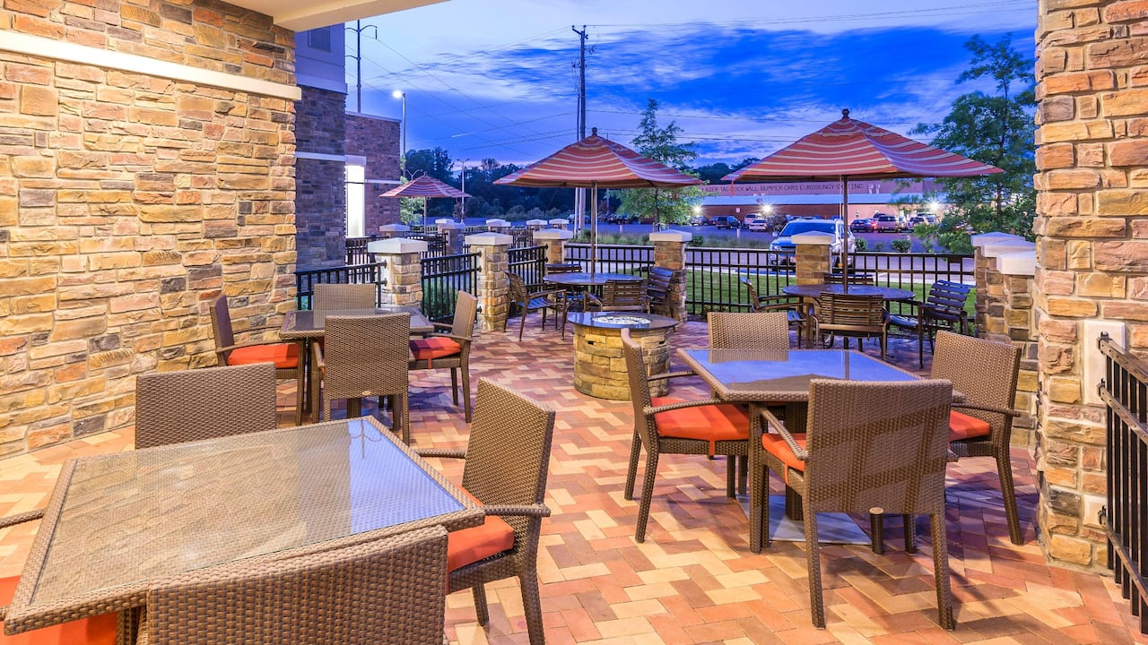 Outdoor Patio Dusk