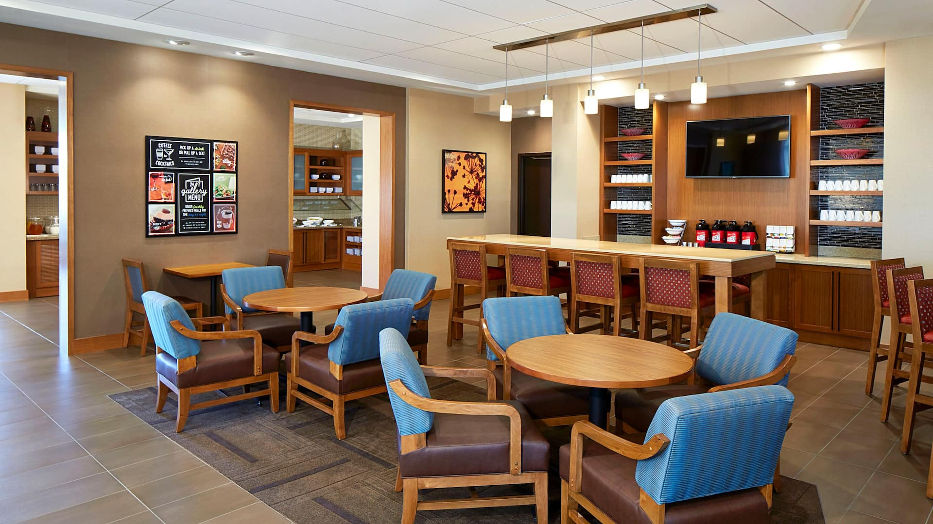 Coffee to Cocktails Seating
