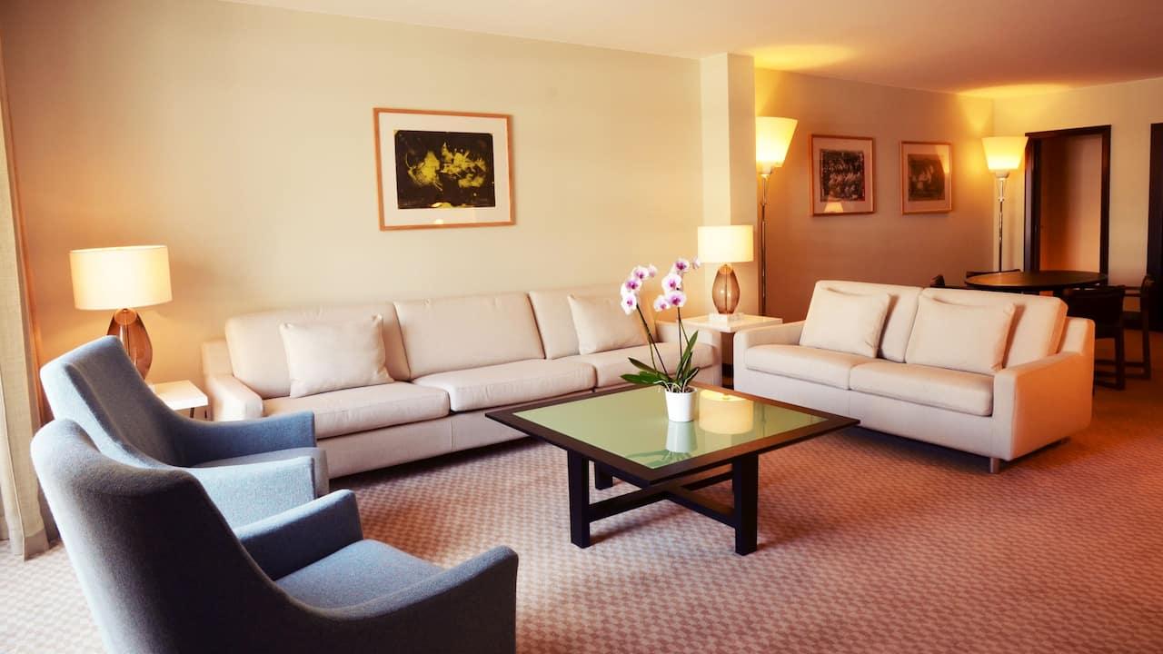 Suite Premium àl'HôtelHyattRegencyNicePalaisDe LaMéditerranée