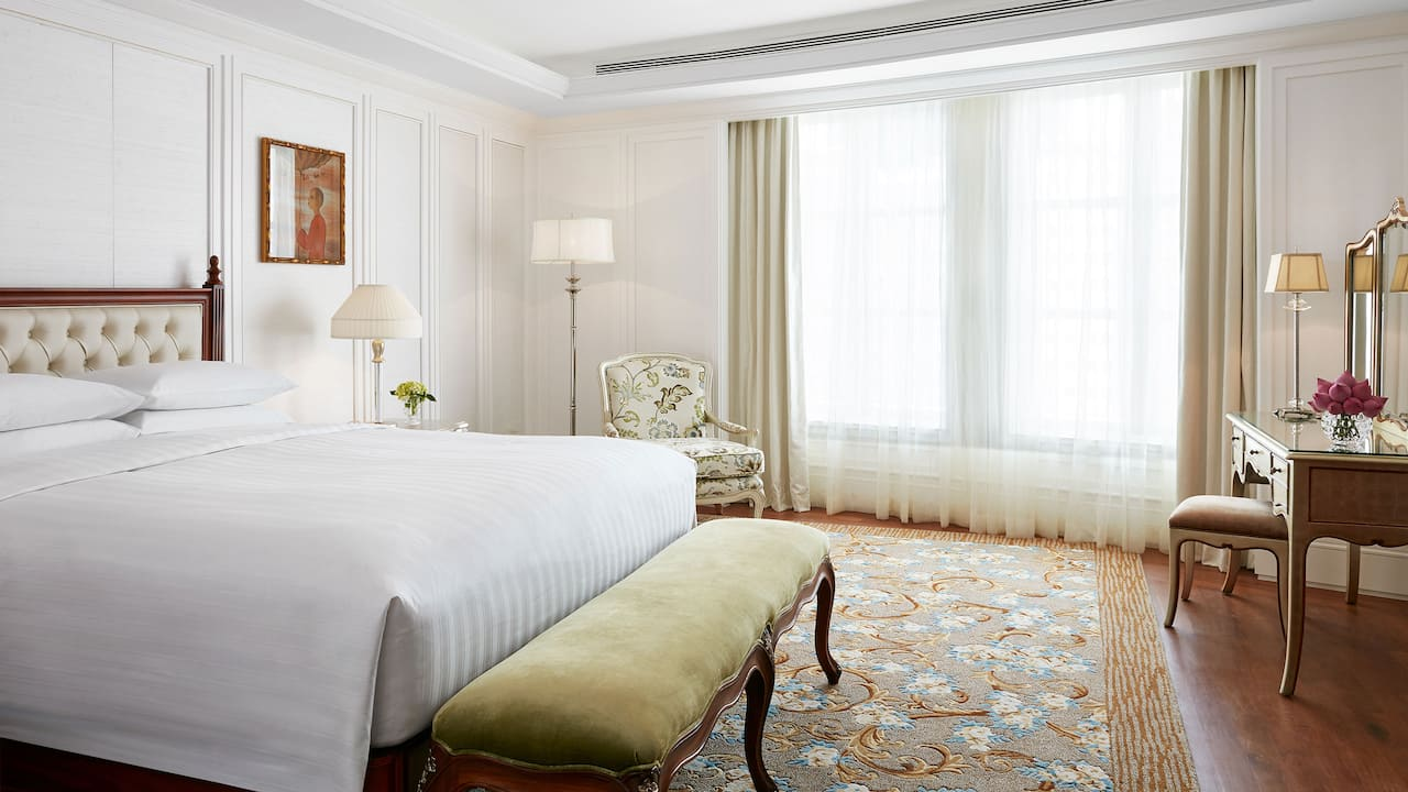 Park Hyatt Saigon Presidential One Bedroom Suite with a Grand Living Area