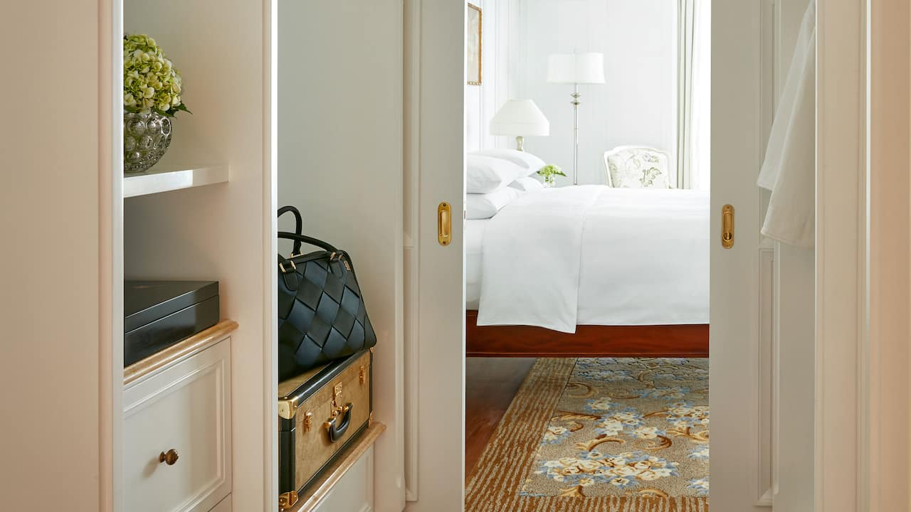 Park Hyatt Saigon Presidential Suite, a Luxury Suite with a Large Closet and Dressing Room