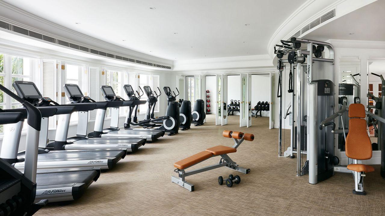 Gym, Park Hyatt Hotel Near Ben Thanh Market