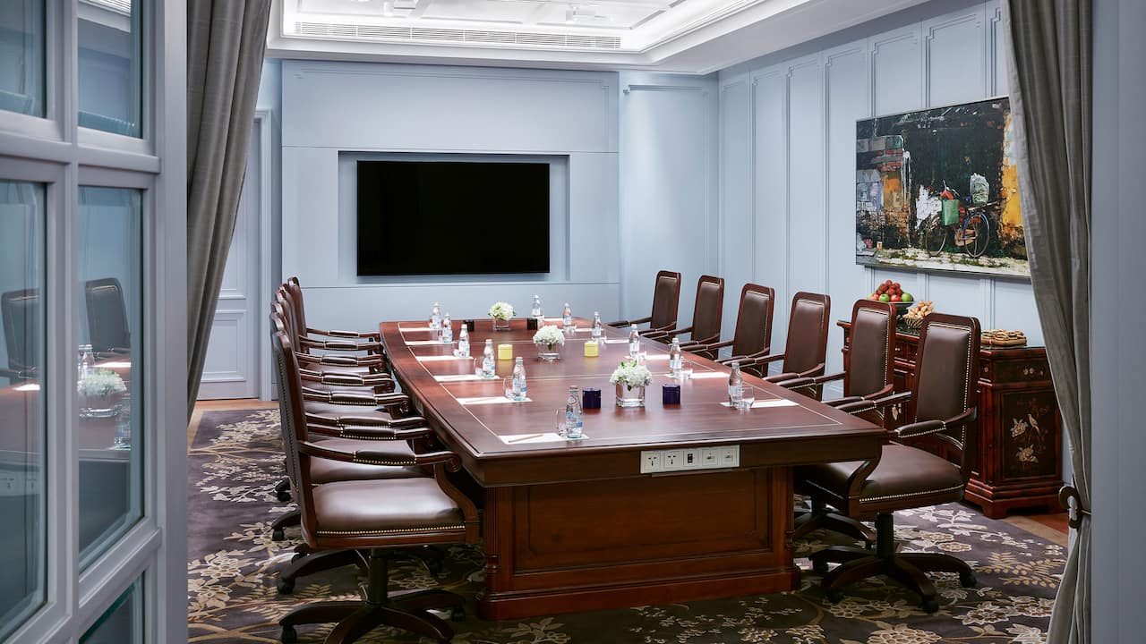 Park Hyatt Saigon Meeting Space (the Study Drawing Rooms)