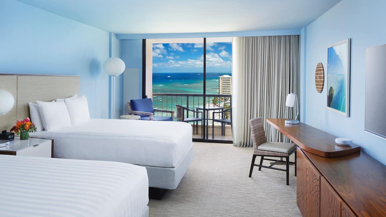Double Q Rectangular Ocean View