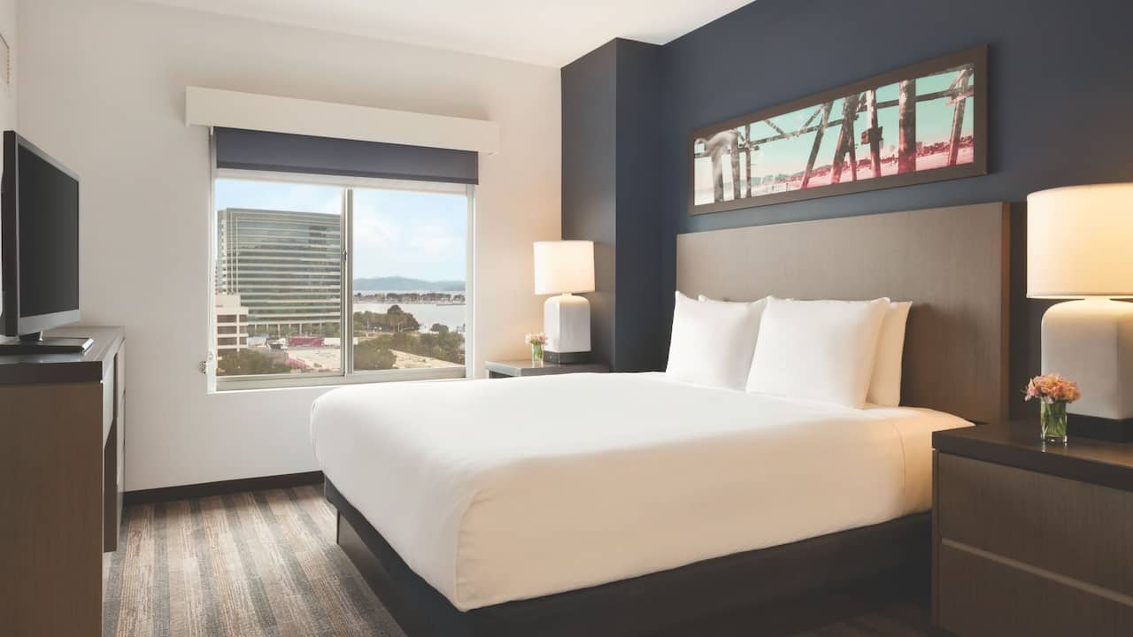 King Suite Hyatt House Emeryville / San Francisco Bay Area