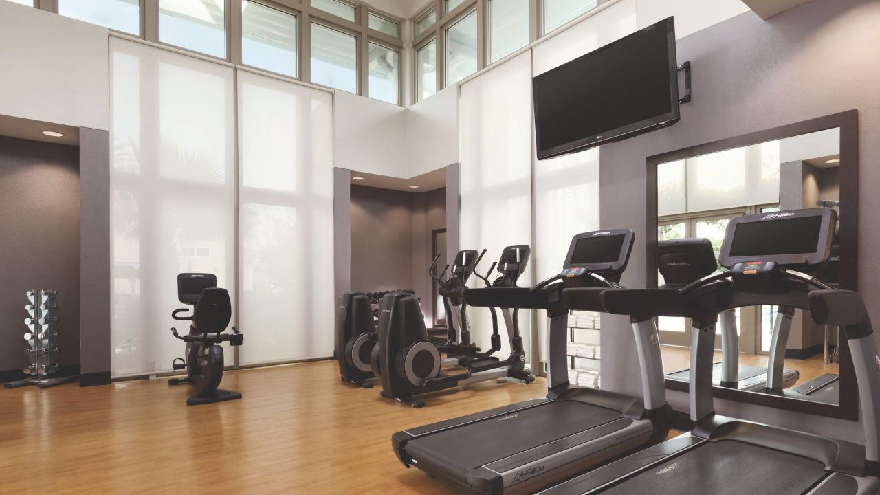 24-Hour Workout Room Hyatt House Emeryville / San Francisco Bay Area