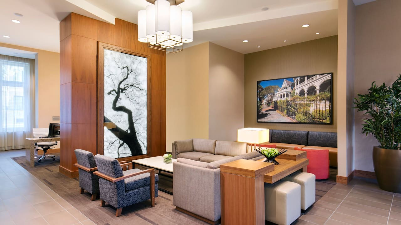 Hyatt Place Charleston/Historic District Lobby