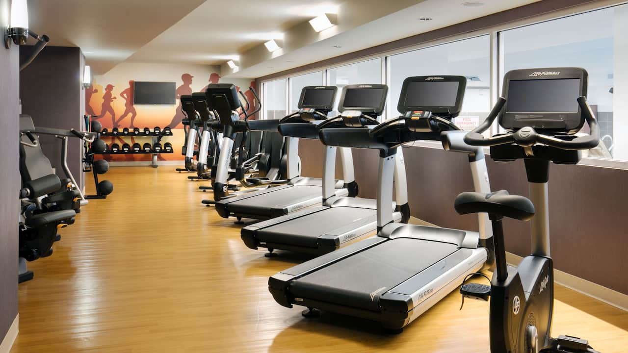 24/7 Gym at Hyatt Place Charleston/Historic District