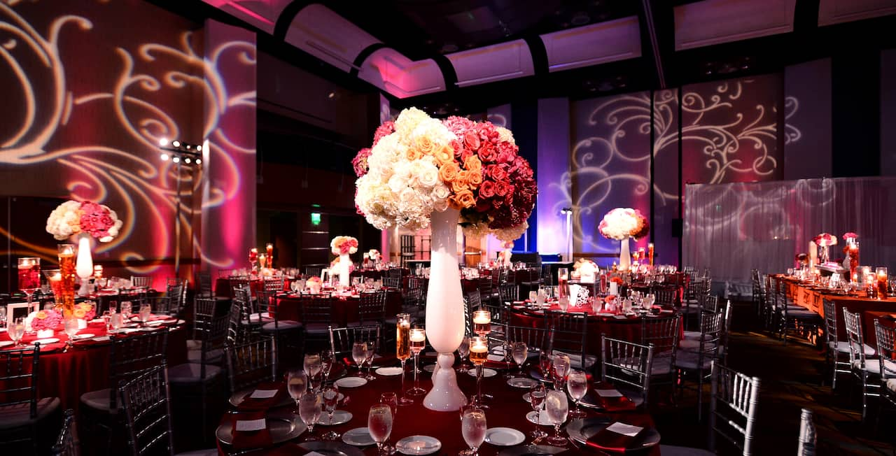 Hyatt Regency Orange County Wedding