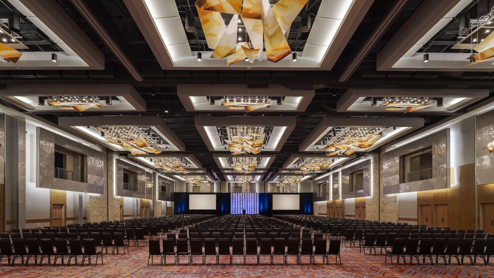 Meeting Room Auditorium Setup Hyatt Regency Denver