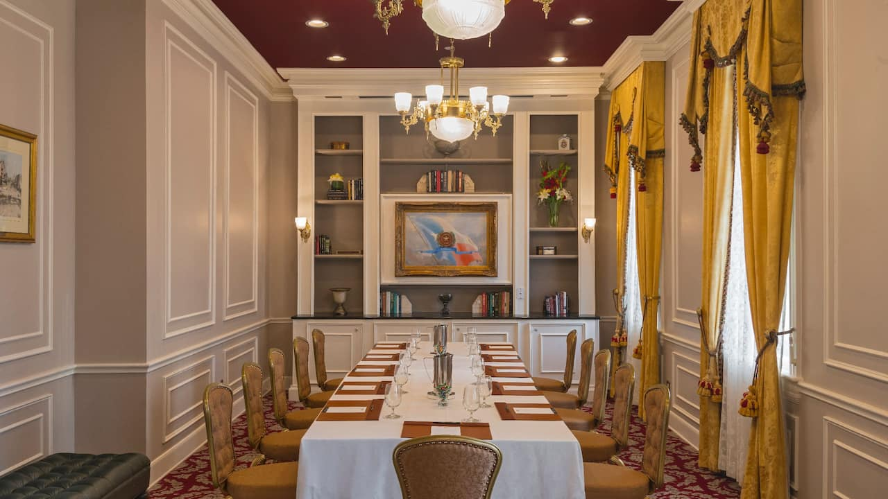 Small Dining Meeting Room The Driskill