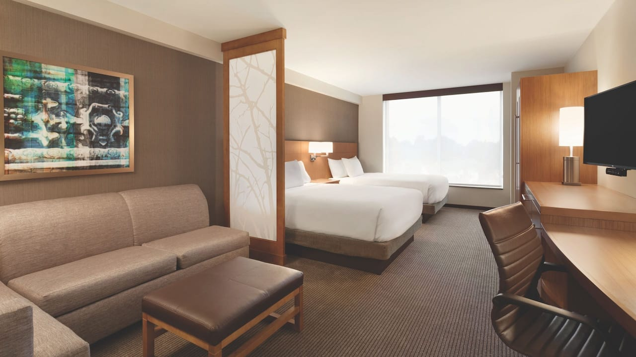 ADA Accessible Hotel Room with Two Queen Beds Hyatt Place Buffalo/Amherst