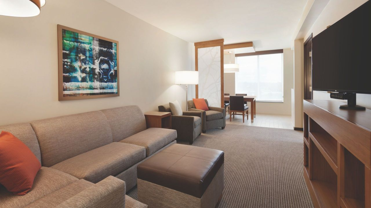 Hyatt Place Buffalo Living Room Suite