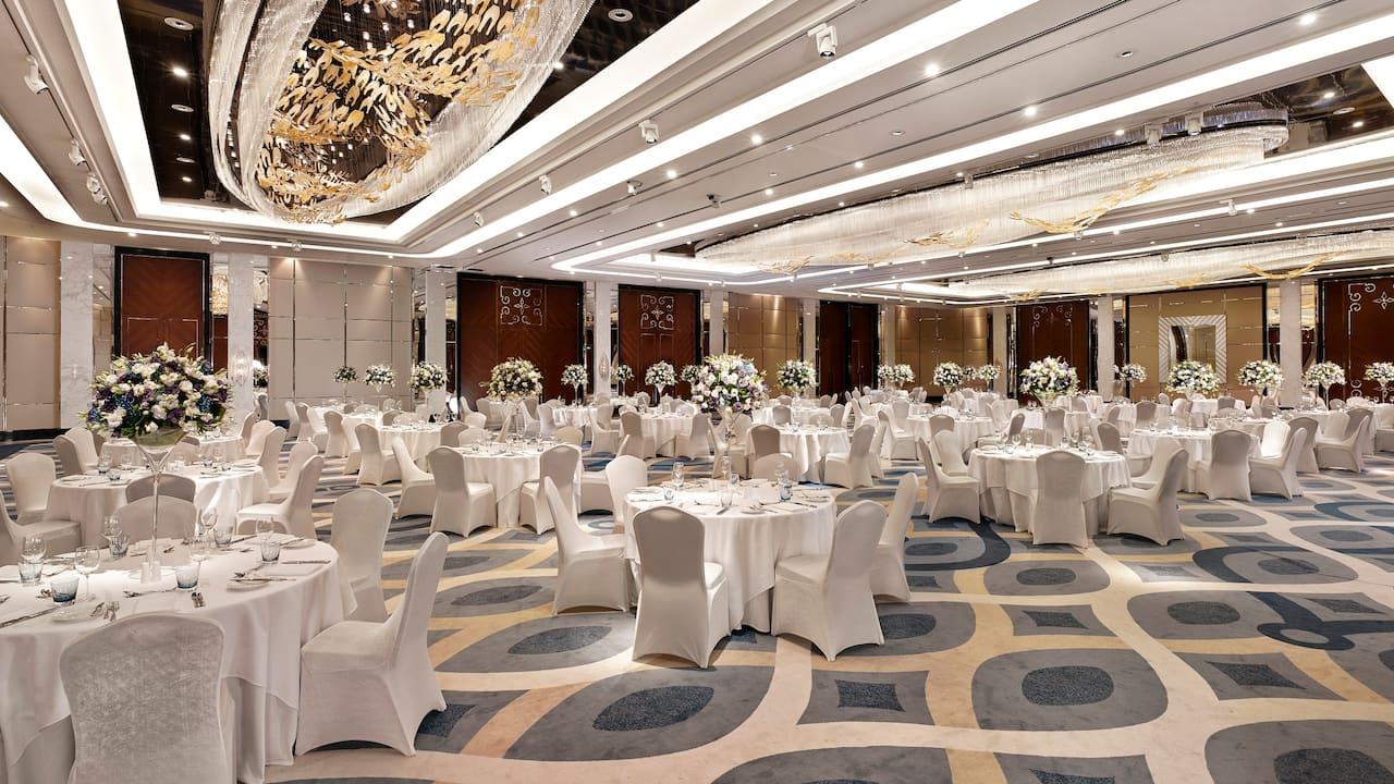 hyatt regency istanbul atakoy ballroom wedding