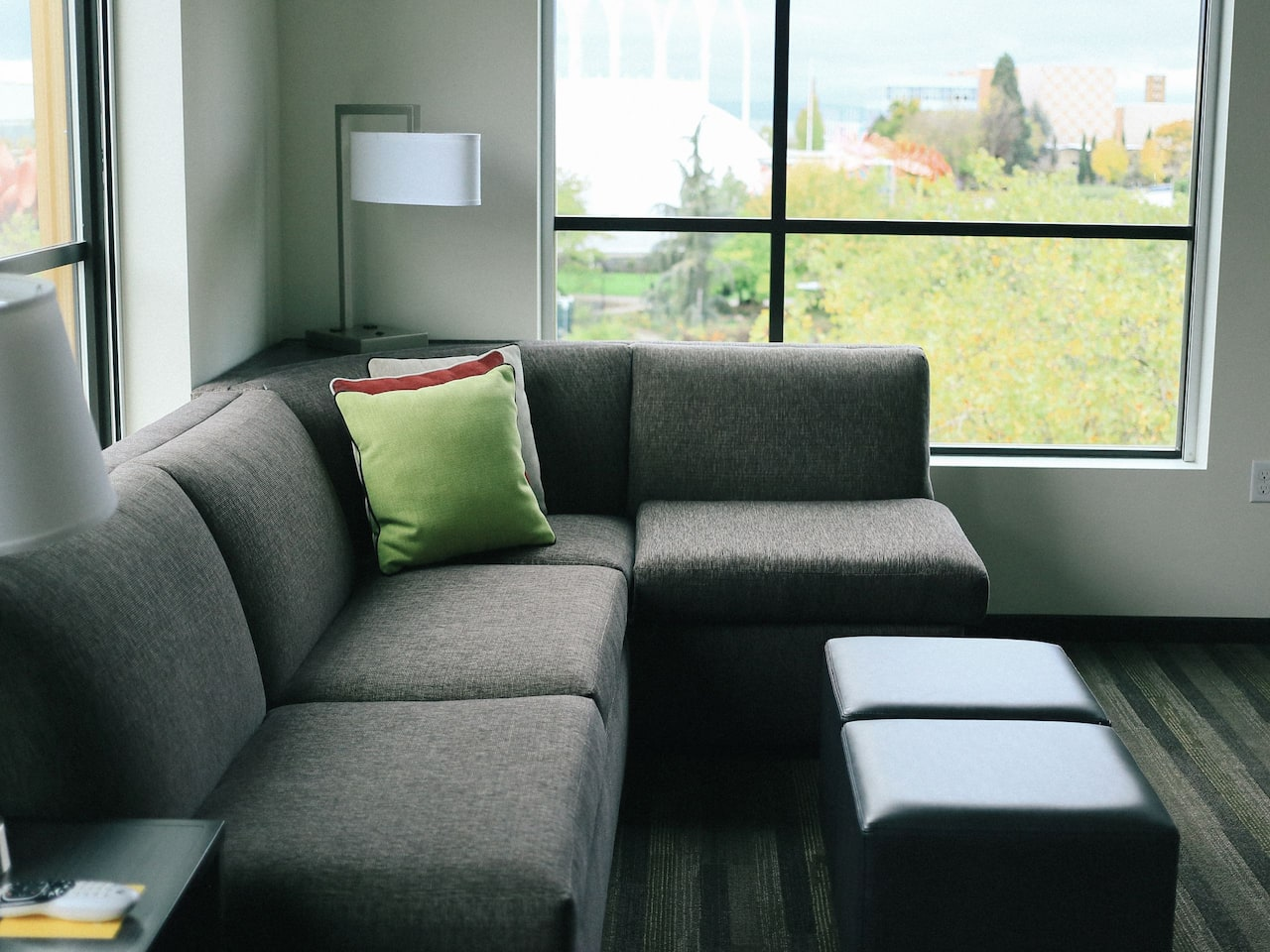 Hyatt House Cozy Corner Couch