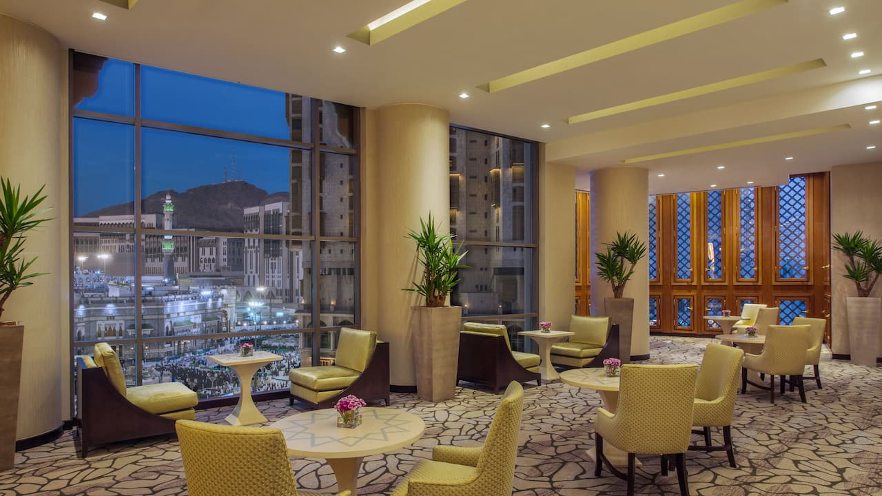 Hyatt Regency Makkah Tea Lounge