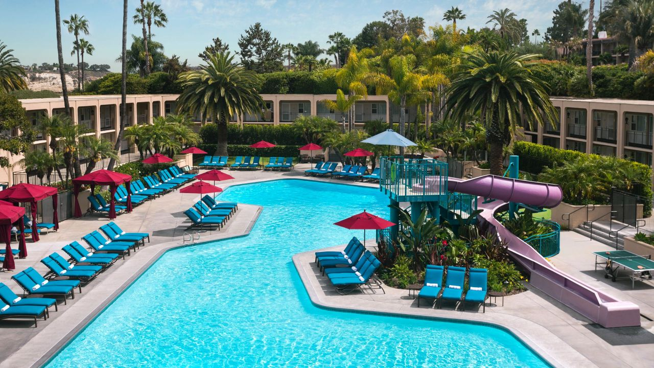 Hyatt Regency Newport Beach Hotel Pool