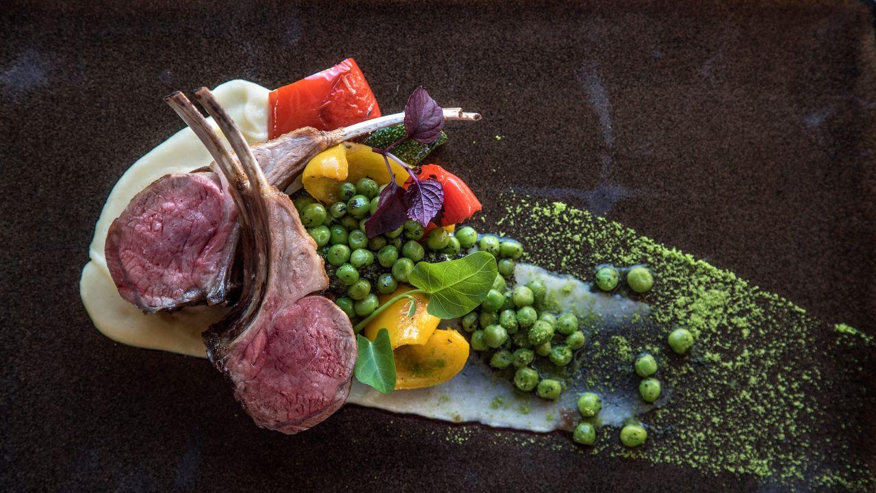 Lamb Chop Ukranian Chef