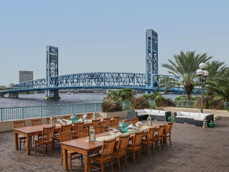 River Deck Balcony Hyatt Regency Jacksonville Riverfront