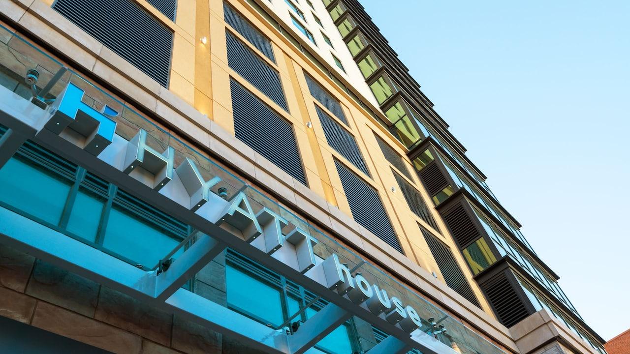 Exterior Sign Hyatt House Denver / Downtown