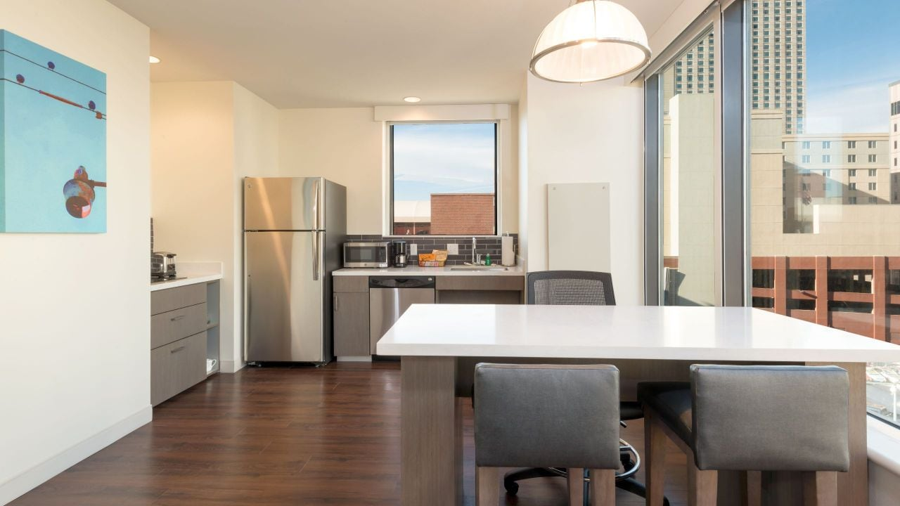 Accessible One Bedroom Suite Kitchen