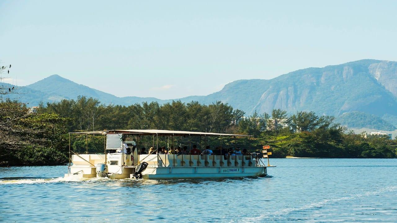 Balsa Lagoa Marapendi