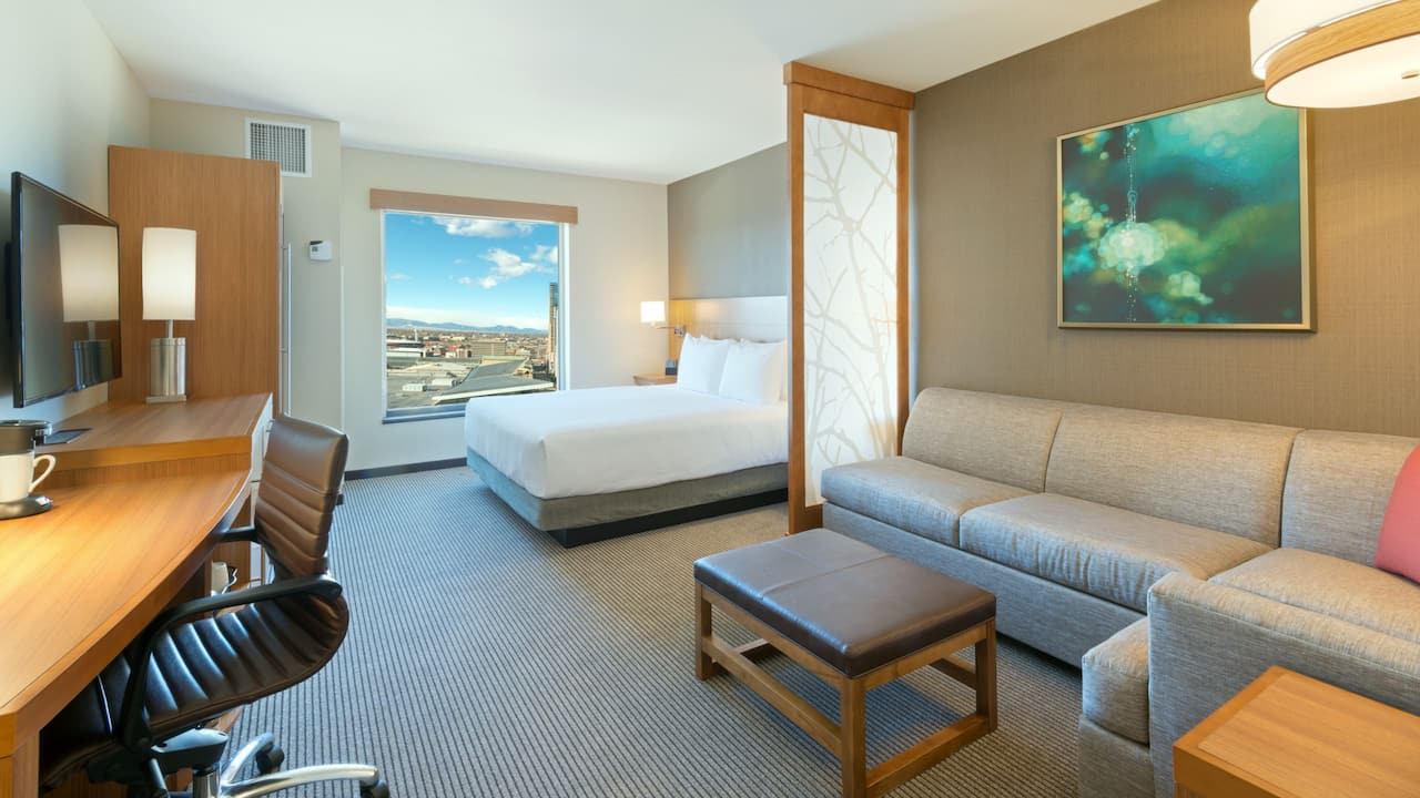 High Floor with King Bed Hyatt Place Denver Downtown