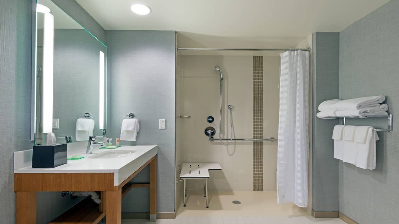 Accessible Room with Roll-In Shower Hyatt Place Denver Downtown
