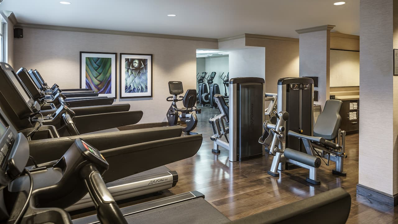 Fitness Center Hyatt Regency Coral Gables