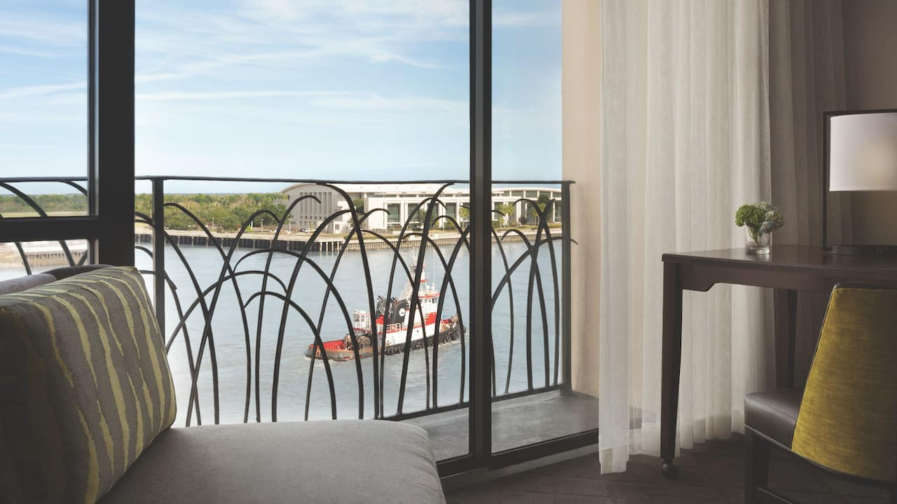 Hyatt Regency Savannah Balcony
