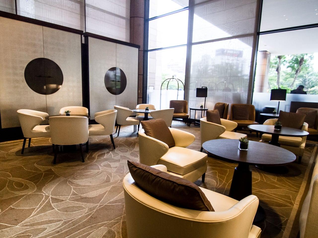 Grand Hyatt Taipei Lobby Lounge