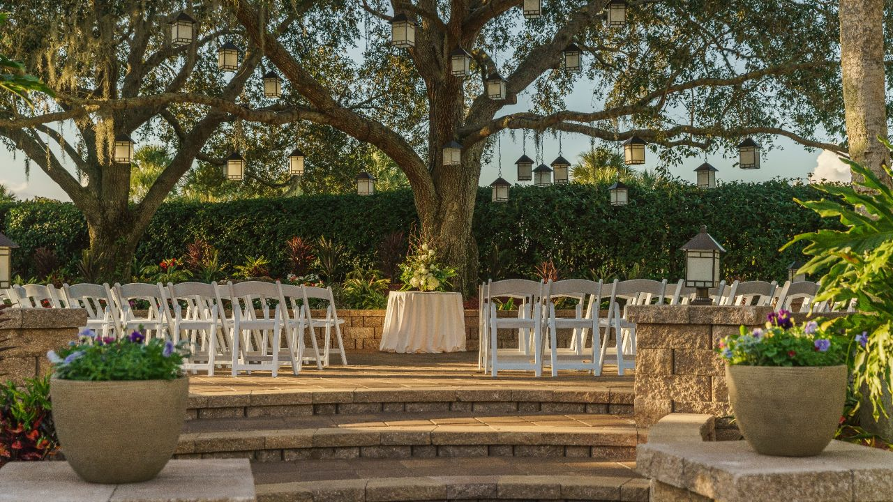 Hyatt Regency Grand Cypress Wedding Ceremony