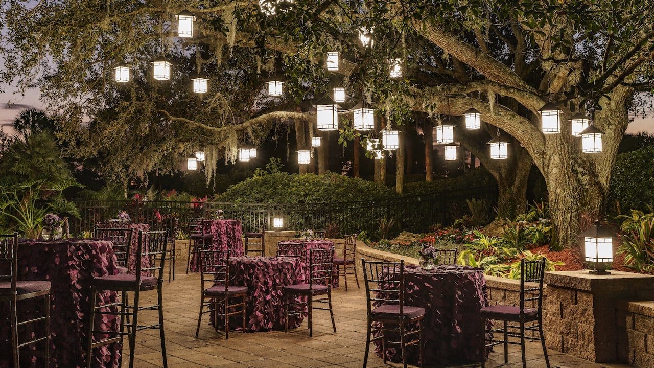 Hyatt Regency Grand Cypress Oak Terrace Reception