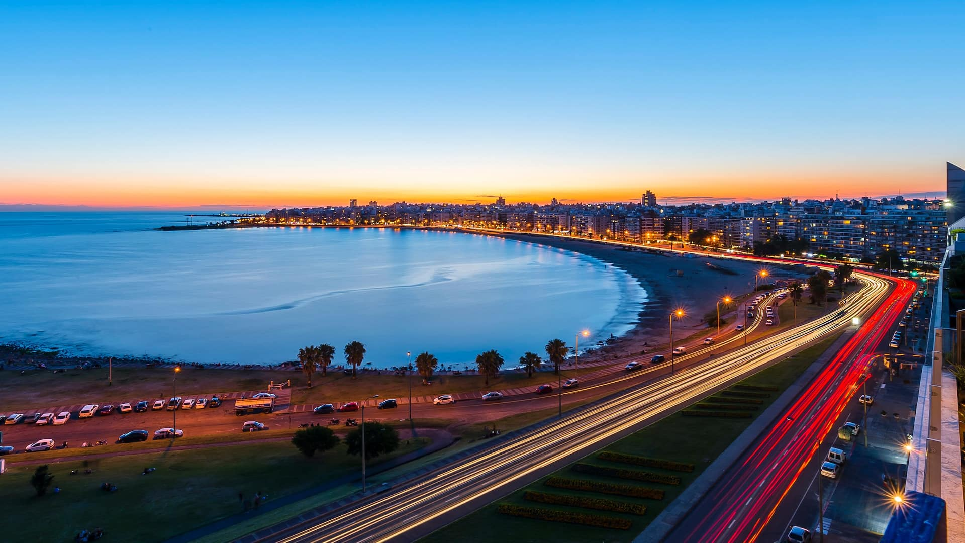 Hyatt Centric Montevideo Rambla Night