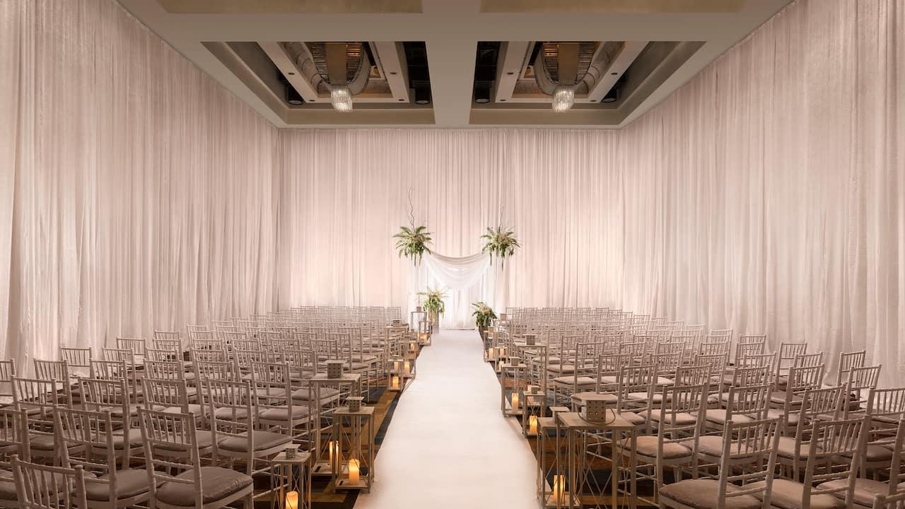 Hyatt Regency Chesapeake Bay Gold Resort Spa and Marina Wedding Ceremony