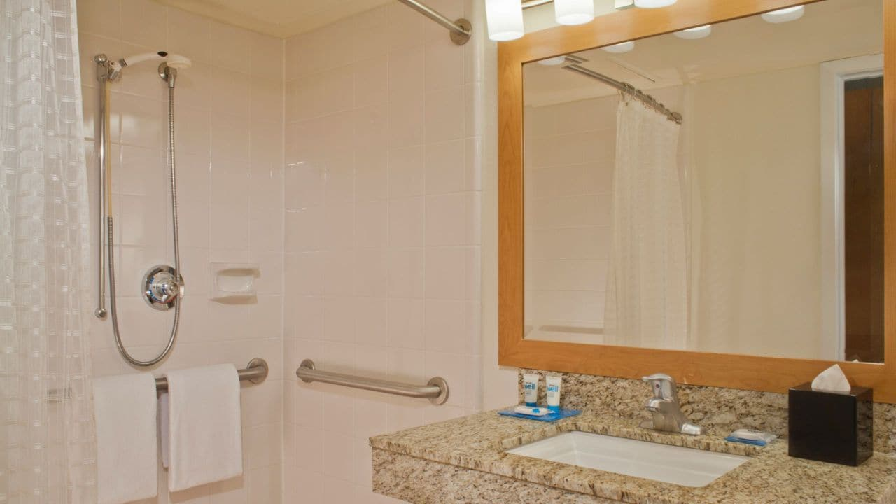 Hyatt House Dallas Richardson Roll-In Shower